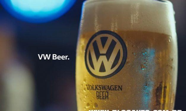 Volks Beer, a cerveja da Volkswagen, isso mesmo!!!