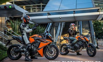 Honda CB 650F e CBR 650F 2019 a partir de R$ 34.900