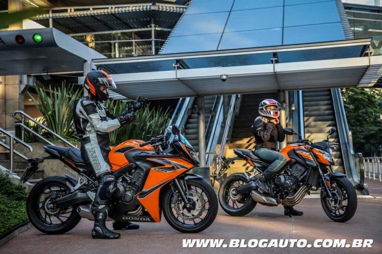 Linha Honda 650cc 2019