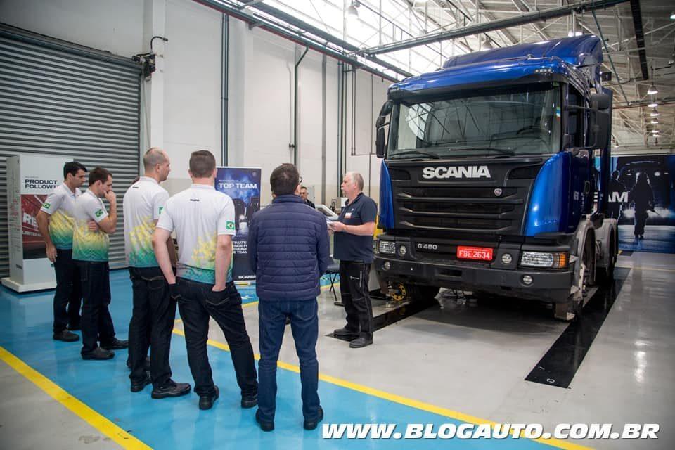 Top Team da Scania competição dos pesados