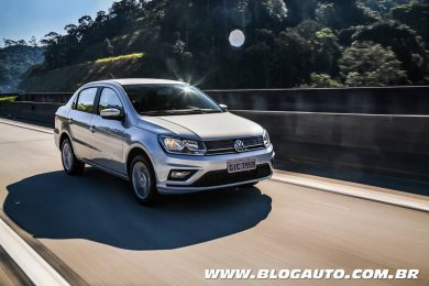 Volkswagen Voyage 2019 com transmissão automática