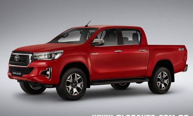 Toyota Hilux 2019 muda na versão topo de linha