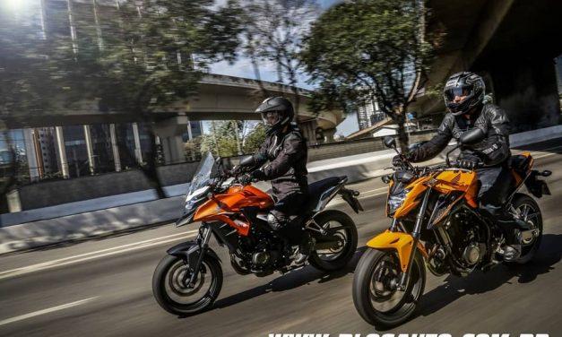 Honda CB 500X e CB 500F 2019 mudam pouco