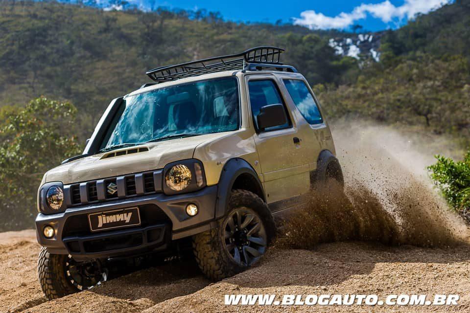 Suzuki Jimny Desert chega mais off-road por R$ 85.990