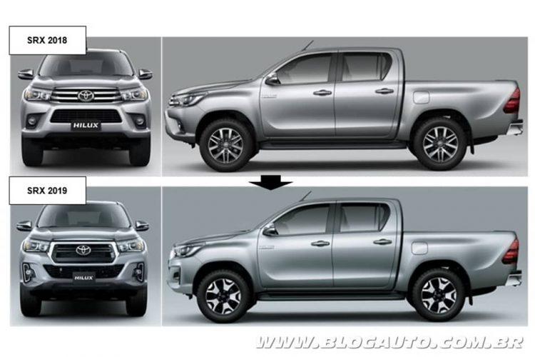 Toyota Hilux 2018 e 2019