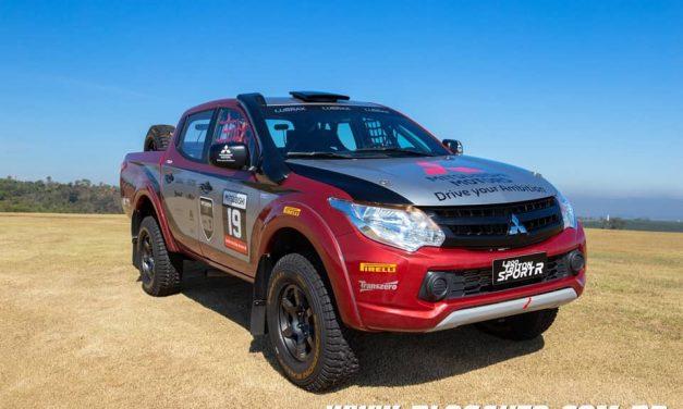 Mitsubishi L200 Triton Sport R pronta para as competições