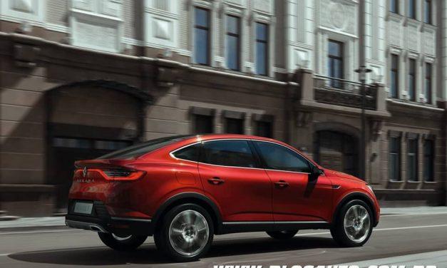 Renault Arkana chega por aqui em 2020