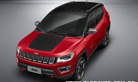 Jeep Compass 2019 chega com mais conteúdo