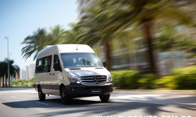 Mercedes-Benz Sprinter Golden Edition líder e limitada