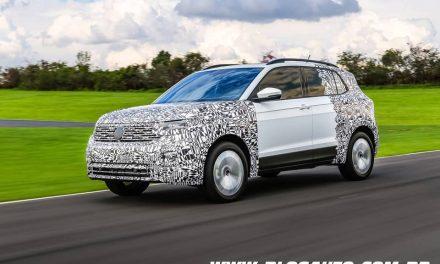 Volkswagen T-Cross 2019 está chegando