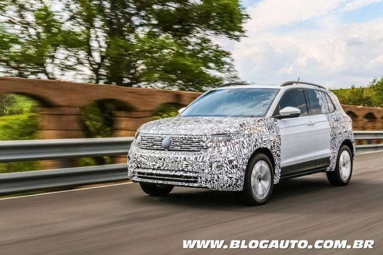Volkswagen T-Cross 2019 Camuflado