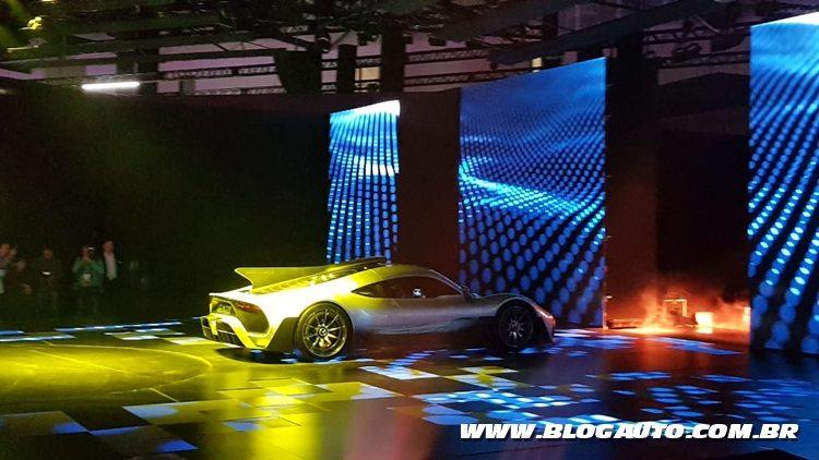 Salão do Automóvel 2018 - AMG One