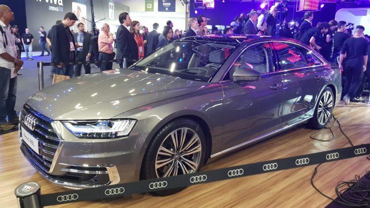 Salão do Automóvel 2018 - Audi A8 Sedã