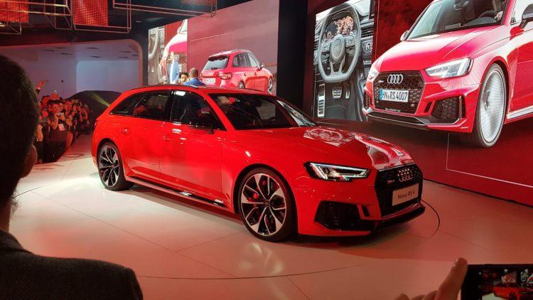 Salão do Automóvel 2018 - Audi RS4