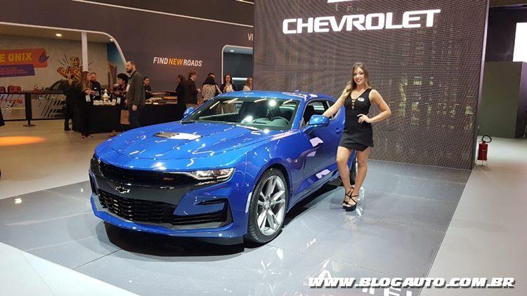 Salão do Automóvel 2018 - Chevrolet Camaro 461 cv