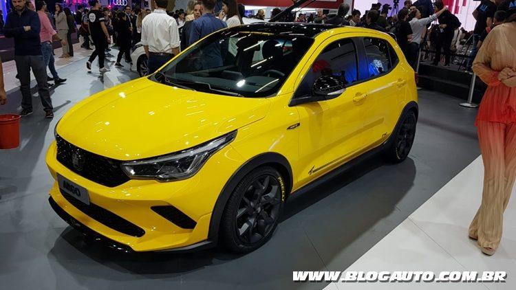 Salão do Automóvel 2018 - Fiat Argo Sting