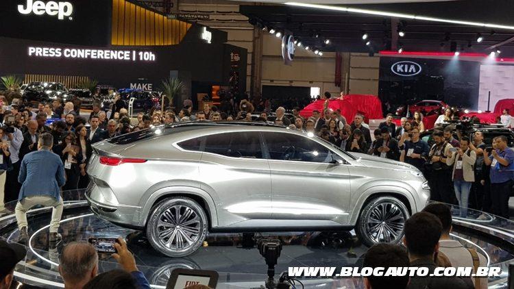Salão do Automóvel 2018 - Fiat Fastback