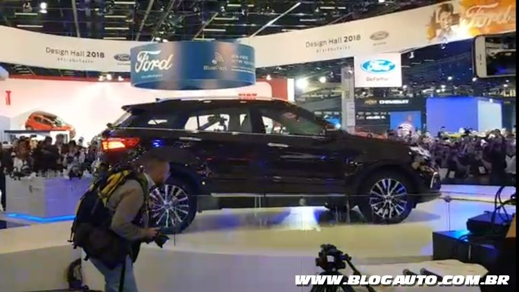Salão do Automóvel 2018 - Ford Territory