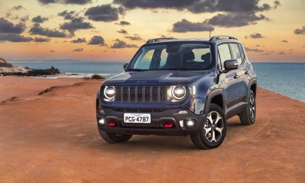 Novo Jeep Renegade, agora com versões automáticas a partir de R$ 83.990
