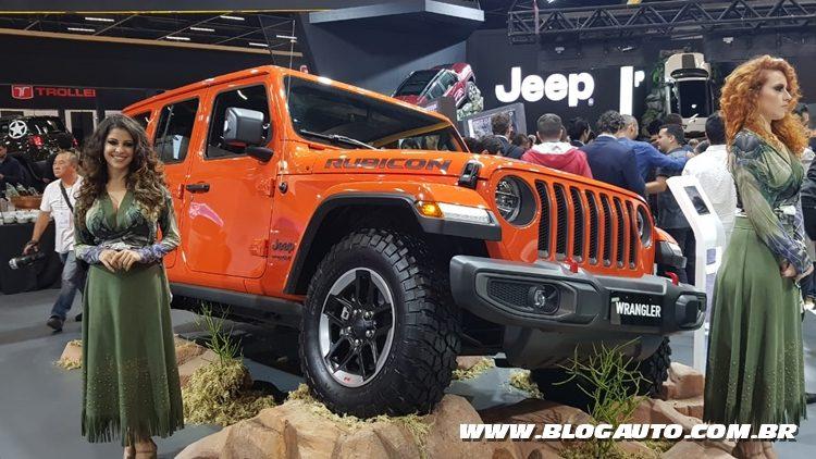 Salão do Automóvel 2018 - Jeep Wrangler