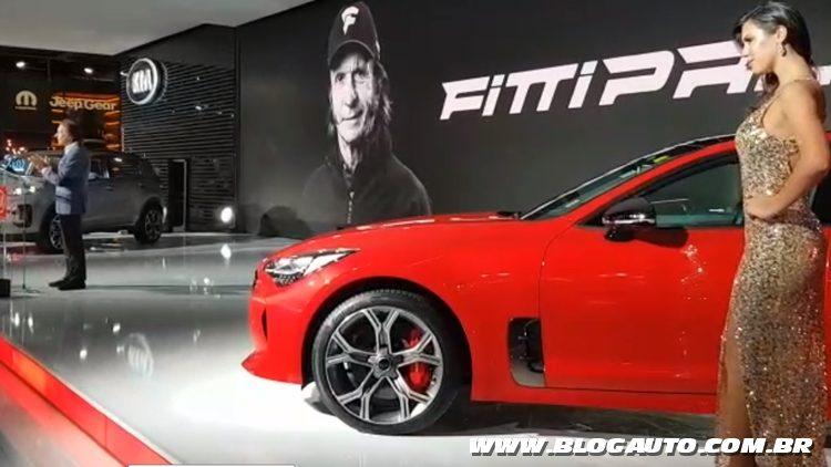 Salão do Automóvel 2018 - Kia Stinger GT