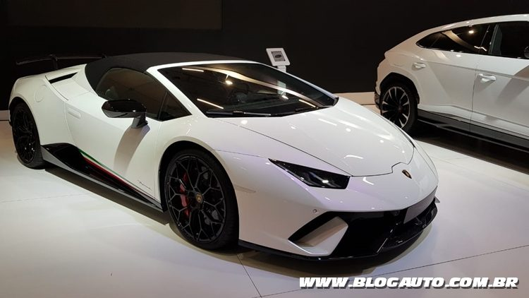 Salão do Automóvel 2018 - Lamborghini Hurracan Performante Spider