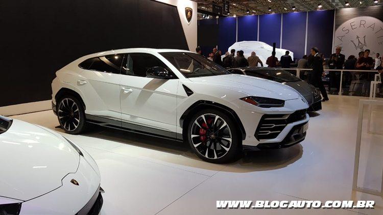 Salão do Automóvel 2018 - Lamborghini Urus
