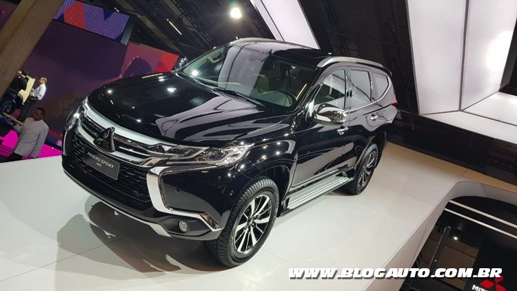 Salão do Automóvel 2018 - MITSUBISHI Pajero Sport HPE