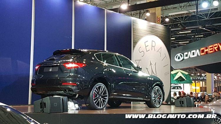 Salão do Automóvel 2018 - Maserati Levante Trofeo