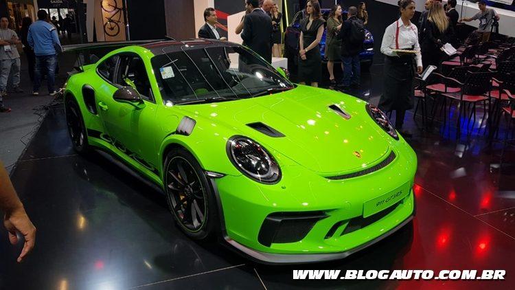 Salão do Automóvel 2018 - Porsche 911 GT3 RS