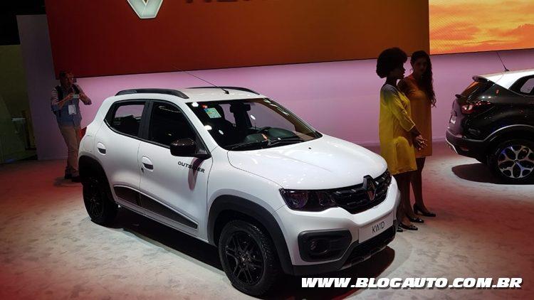 Salão do Automóvel 2018 - Renault Kwid Outsider