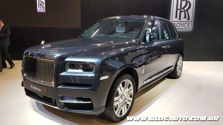 Salão do Automóvel 2018 - Rolls-Royce Culliman
