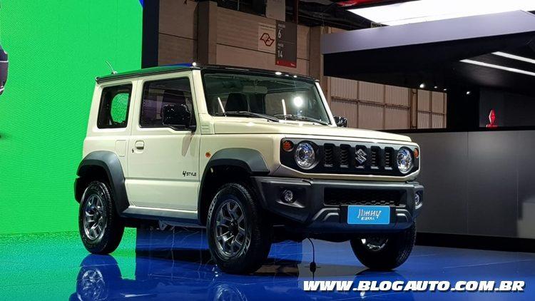 Salão do Automóvel 2018 - Suzuki Jimny Sierra
