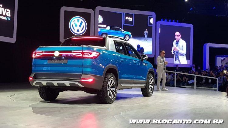 Salão do Automóvel 2018 - VW Tarok.