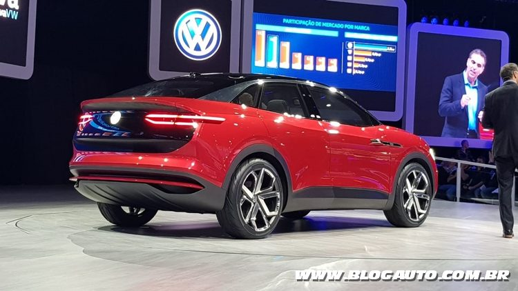 Salão do Automóvel 2018 - Volkswagen ID Crozz elétrico