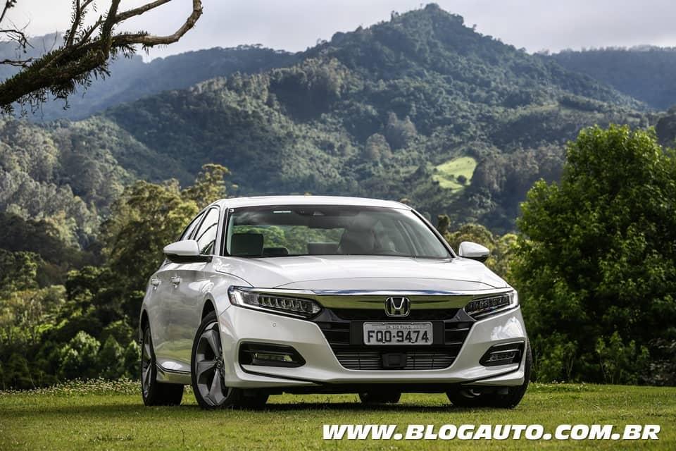 Avaliação: Honda Accord 2019 chega por R$ 198.500