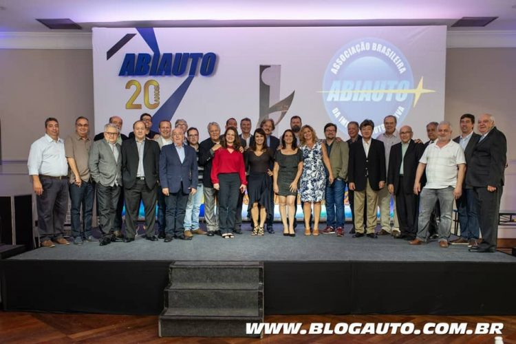 Os vencedores do Prêmio ABIAUTO 2018