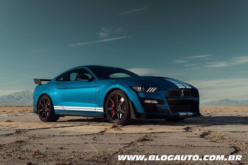 Ford Mustang Shelby GT500 2020 mais de 700 cv