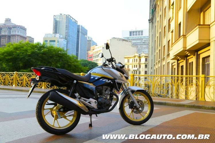 Honda CG Titan 160 Edição Especial 25 anos