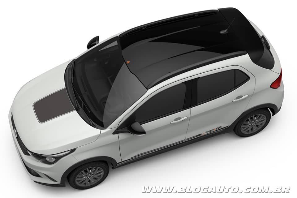 Fiat Argo Trekking vem ai com visual mais robusto