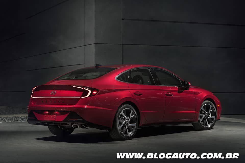 Hyundai Sonata 2020 totalmente novo com visual polêmico