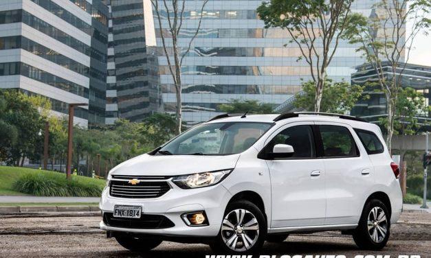 Chevrolet Spin Premier 2020 chega por R$ 84.390