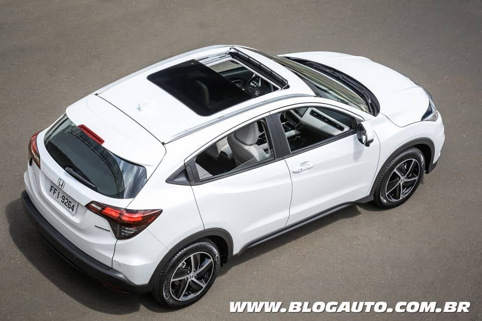 Honda HR-V 2020 Touring agora turbo por R$ 139.900