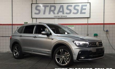 Volkswagen Tiguan R-Line Oettinger chega com 280 cv