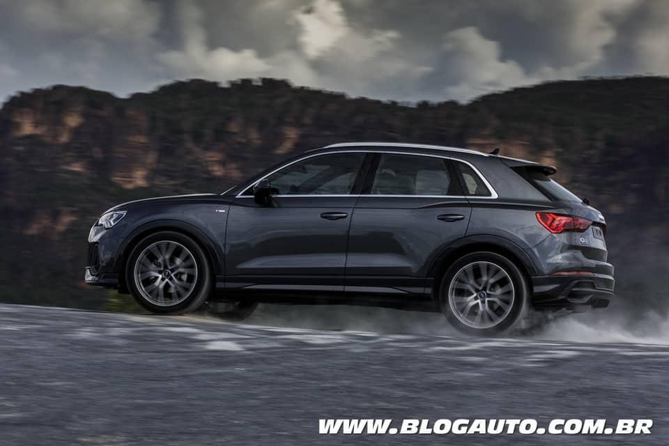 Audi Q3 2021 tem pré-venda por R$ 179.990