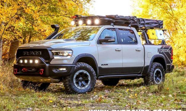 RAM 1500 Rebel OTG Concept Truck chega no SEMA