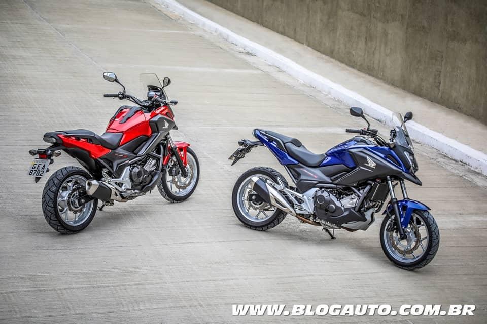 Honda NC 750X 2020 nova cores por R$ 33.980