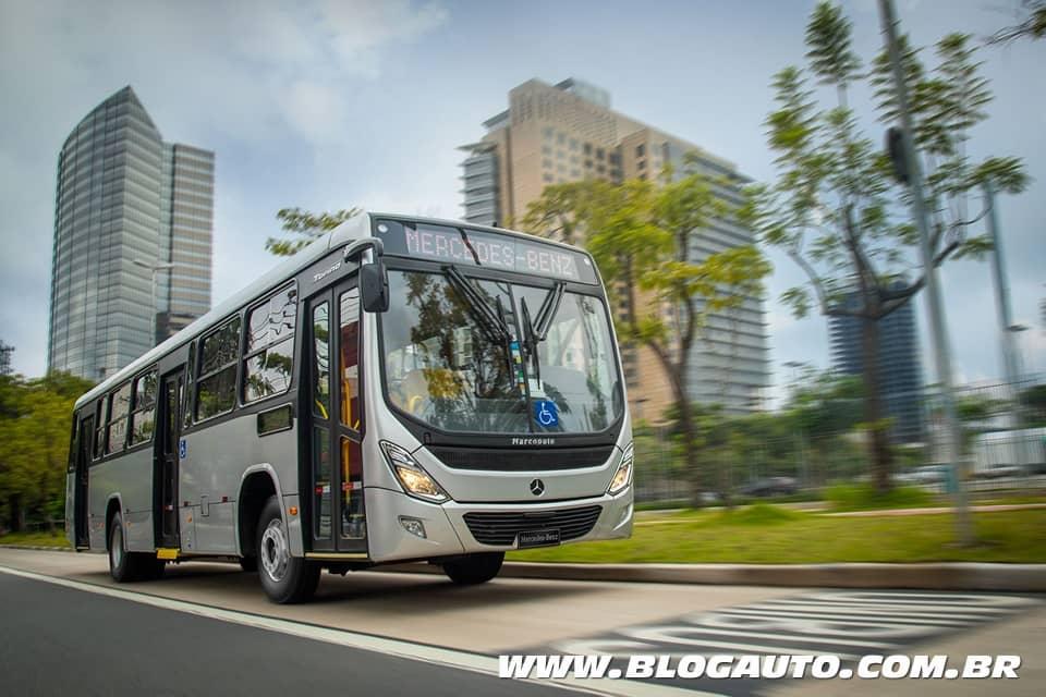 Mercedes-Benz OF 1721 é o ônibus mais vendido do Brasil pelo sétimo ano