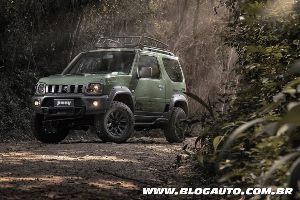 Suzuki Jimny Forest série especial chega por R$ 94.990