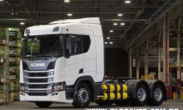 Scania continua apostando no GNV, agora no nordeste